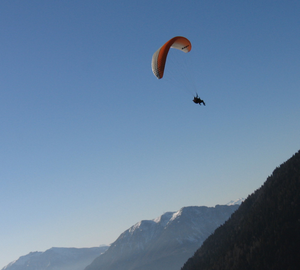 Free flight in Trentino